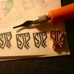 DIY Rubber Stamp Tutorial