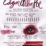 Organics Studio – 3 Ink Review – Writers Edgar Allan Poe, Jane Austen, and Jules Verne