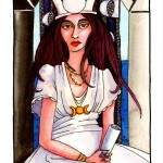 The High Priestess – Tarot Series