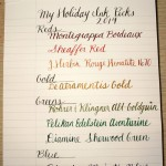 Holiday Ink Picks 2014
