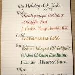 Holiday Ink Picks 2014