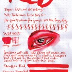 Color a Day – Sunday – Red