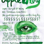 Color a Day – Wednesday – Green