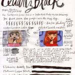 Diamine Quartz Black Ink Review