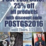 Post-Fest Sale – 25% off my entire store!