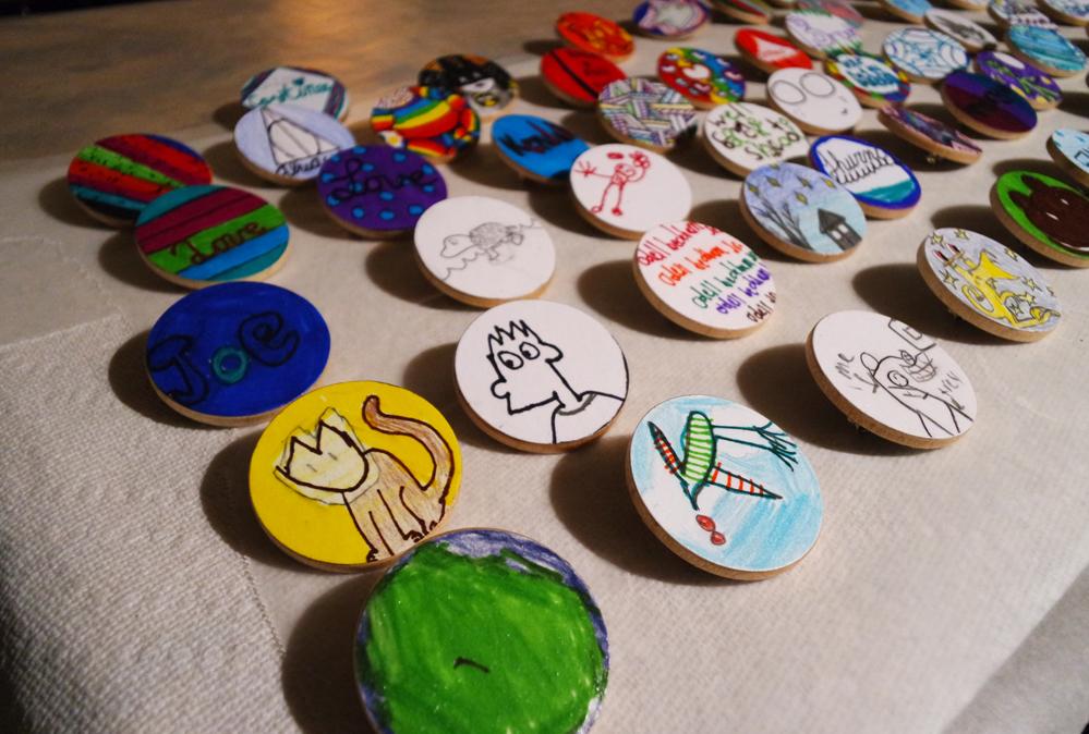 Wooden Pin/Button Tutorial