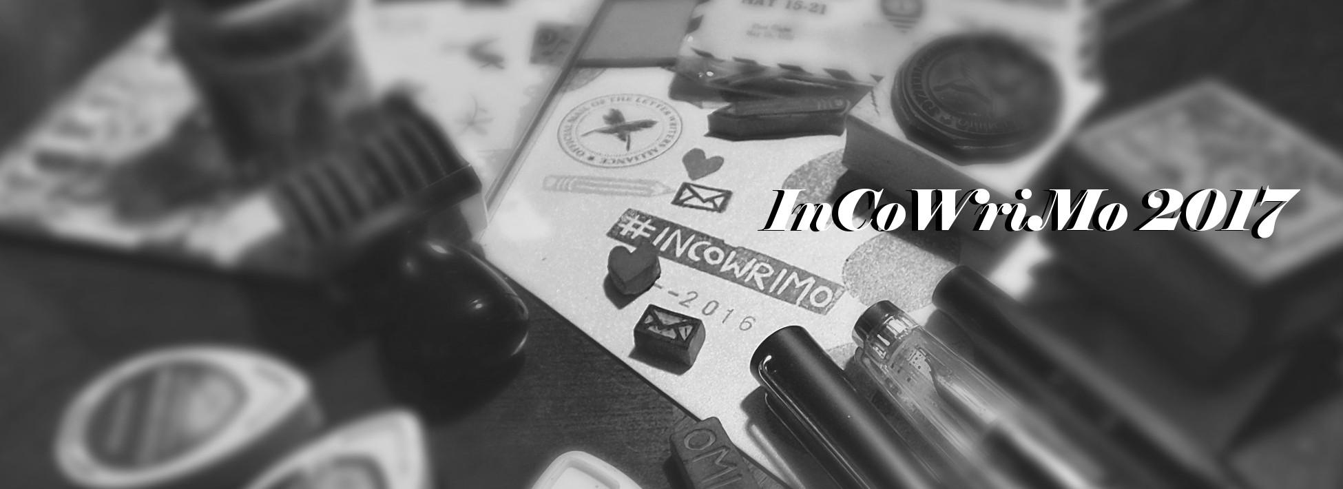 InCoWriMo 2017 plus Free Printable Calendars