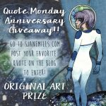 Quote Monday Anniversary Giveaway Year 3!