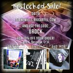 Restocked Shop Sale!