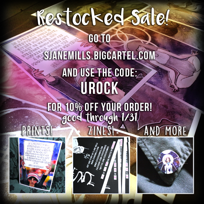 Restocked Shop Sale!
