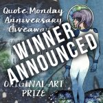 Quote Monday Anniversary Giveaway Year 3 Winner!
